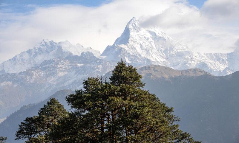 Непал горы гималаи